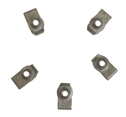 GM U-Nut Clip On Retainers Pack of 5 New OEM M6 X 1.25 15mm X 25mm 11507067