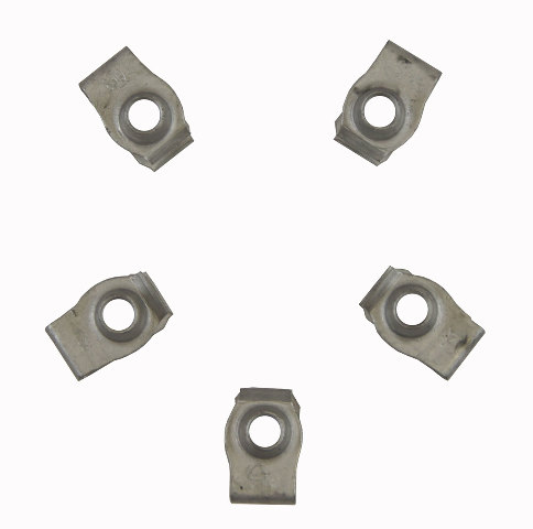 Gm Clip On Retainers Pack Of 5 New Oem M8 X 1 25 17mm X