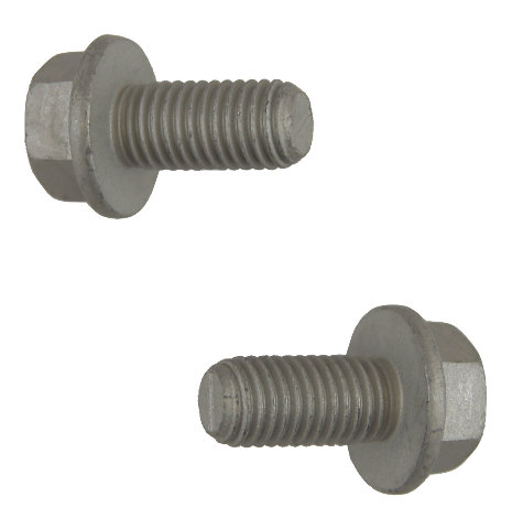 GM Hex Head Flange Bolts Pack of 2 New OEM M12 X 1.75 X 25mm 11516329 11515774