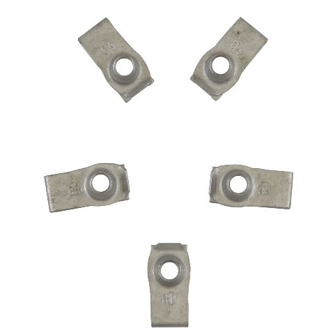 GM Retainer Clip On Nut Pack of 5 New OEM M8 X 1.25 11516647