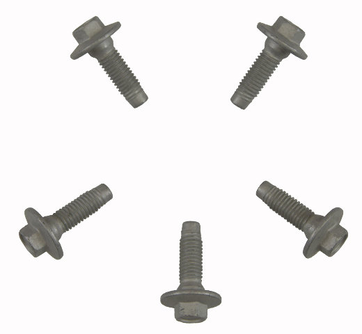 GM Hex Head Flanged Bolts Pack of 5 M8 X 1.25 X 26 New OEM 11519542