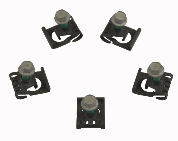 GM Brake Pedal Sensor Retainer W/Bolt Pack of 5 11569844 11569843 11548247