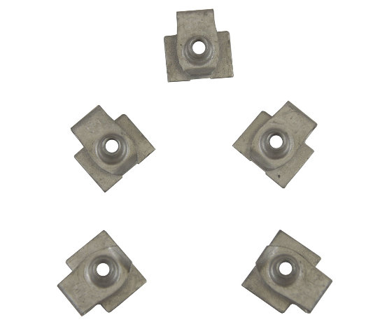 GM Clip-On Nut Retainers Pack of 5 New OEM 11588870