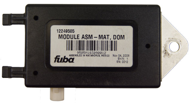 Fuba Radio Antenna Module ASM MAT DOM New OEM 12249505