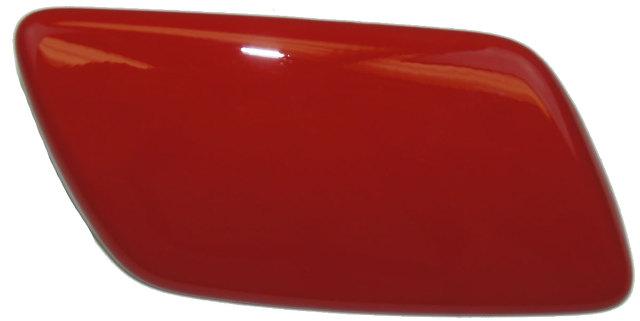 2005-2013 Corvette C6 Right Headlamp Washer Wiper Nozzle Cover Red 10327691