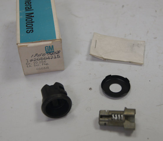 1984-1991 GM Cylinder Lock Kit Uncoded New OEM 12507458 20504715 20498264