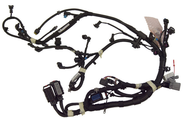 2011 chevrolet cruze 1 4l turbo 6-spd auto engine wiring harness new  13359193 | factory oem parts