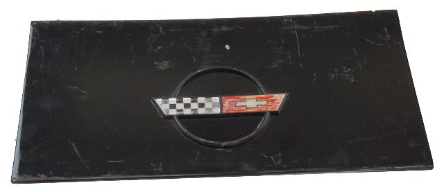 1984-1996 Corvette C4 Coupe Fuel Gas Tank Door Lid GM OEM GENUINE USED BLACK
