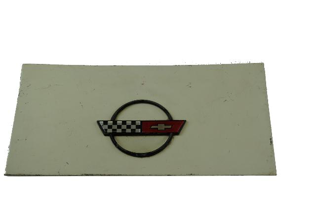 1984-1996 Corvette C4 Coupe Fuel Gas Tank Door Lid GM OEM GENUINE USED White