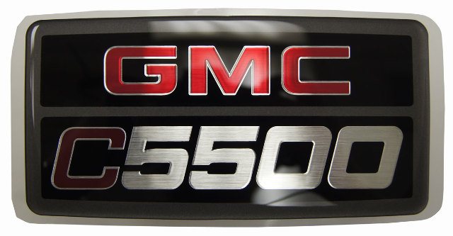 2003-2009 GMC Topkick C5500 Emblem Badge Nameplate Decal New OEM 15012900