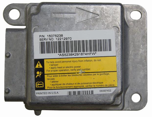 03-09 Topkick/Kodiak C4500-C8500 Airbag Contrl Module 12212970 15075238 19244716