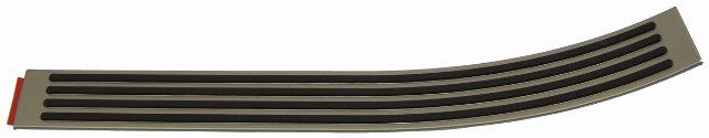 2005-09 Hummer H2 Rear Left Door Opening Floor Scuff Trim Plate New 15137567
