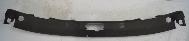 2005-2013 Corvette C6 Windshield Garnish Molding Header Trim Ebony Used 15239504