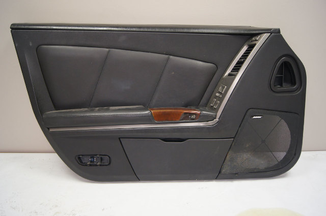 2004-2009 Cadillac XLR Left Door Panel Black Drivers Side Used 15259341 10320914