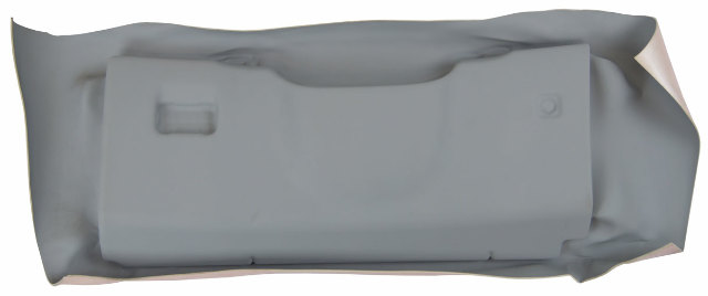 2005-2013 Chevy Corvette C6 Knee Bolster Dash Panel Titanium Grey Unfinished New