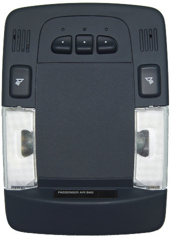 2006-2011 Cadillac DTS Overhead Console Dome Light Garage ...