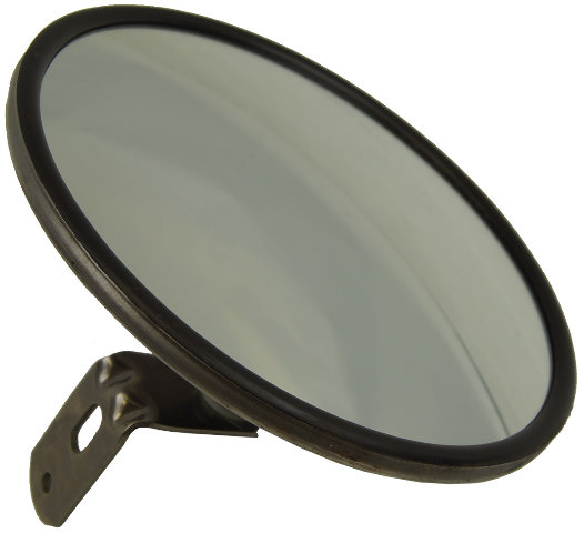 "8"" Circle Outside Rear View Side Hood/Fender Aux Blind Spot Mirror Topkick Semi"