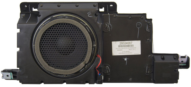 2006-2010 Hummer H3 Subwoofer With Enclosure New OEM 15851583 15283016 Premium