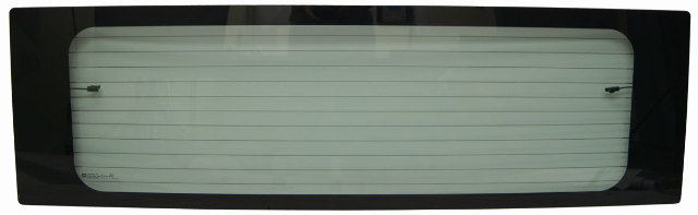 2003-2009 Hummer H2 SUV Rear Window Glass W/Defrost Export Non-Tinted 15909803