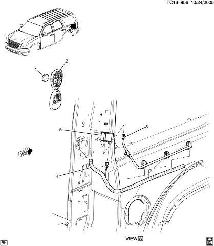 Diagram Toyota Key Fob Case