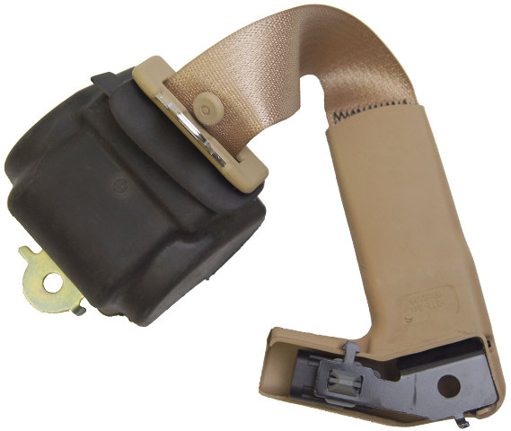 2007-2009 Cadillac XLR Cashmere Color Seatbelt Assembly Right Side 15930418