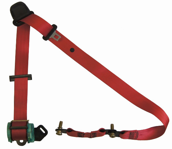 2004-09 Topkick/Kodiak C4500-C8500 Front LH Seat Belt Red New 15952359 19169489