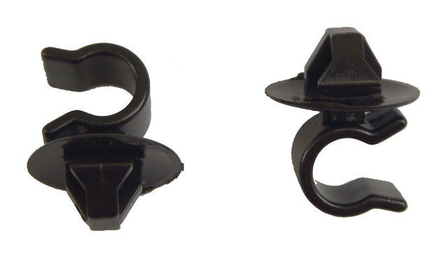 Vacuum Hose Clip Pack of 2 New Fits 9mm Hose Fits 10mm