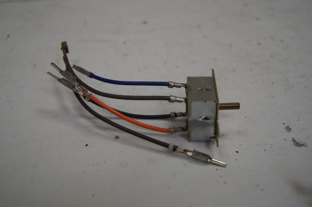 1988-1991 Beretta Corsica A/C Blower Motor Switch New ACDelco 16058025 15-71571