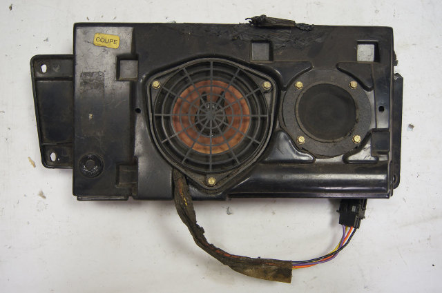 1990-96 Chevy Corvette C4 Coupe Front Right Bose Speaker Used 16166471 16152051