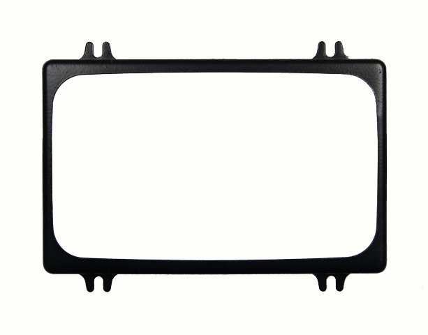 1986-2002 GM Headlight Trim Surround Ring New OEM Black 16503154
