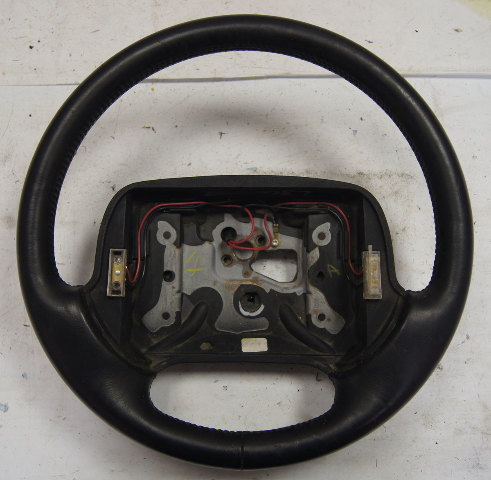 1994-1996 Chevy Corvette C4 Steering Wheel Black Leather Used OEM 16752389