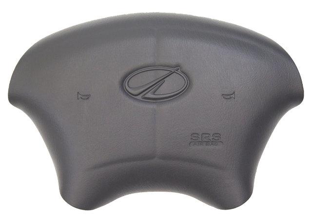 1998-2002 Oldsmobile Intrigue Steering Wheel Center Cover Dark Grey New