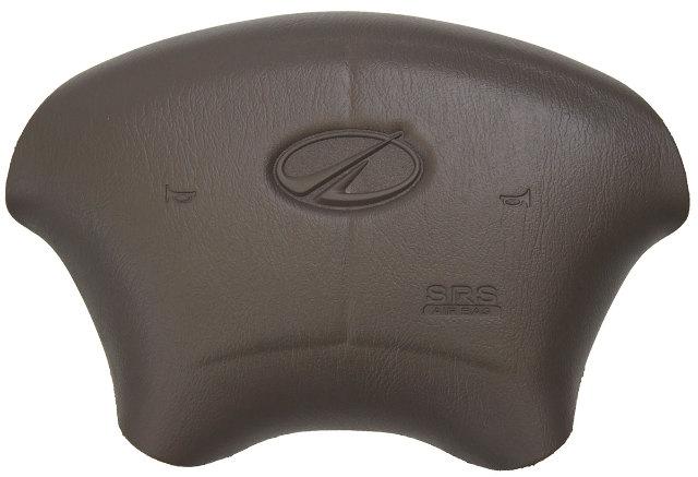 1998-2002 Oldsmobile Intrigue Steering Wheel Center Cover Dark Tan New