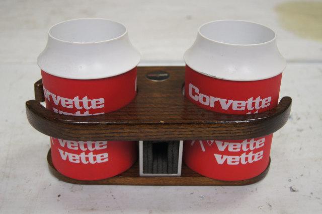 1968 1982 Chevy Corvette C3 Dual Beverage Tender Cup
