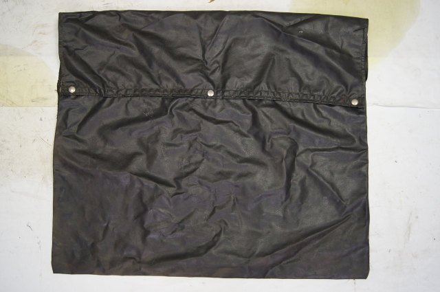 1981 Chevy Corvette C3 T-Top Storage Bag Black W/Snaps Used OEM