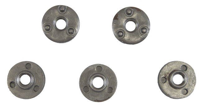 GM Weld On Hex Nuts Pack of 5 New OEM M10 X 1.5 20423400
