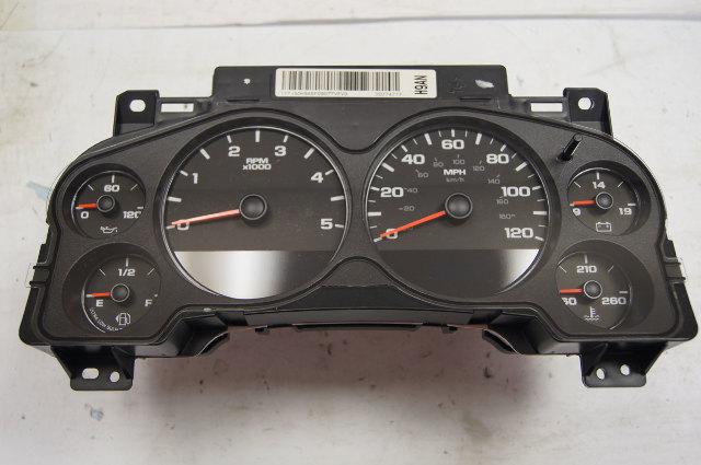 2008-2009 Silverado Sierra 2500 3500 Instrument Cluster Used OEM Diesel 20774717