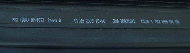 2005-2013 Chevrolet Corvette C6 Windshield Weatherstrip New 20821312 20774936