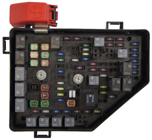 2010 Buick Enclave Saturn Outlook Chevy Traverse Fuse Box