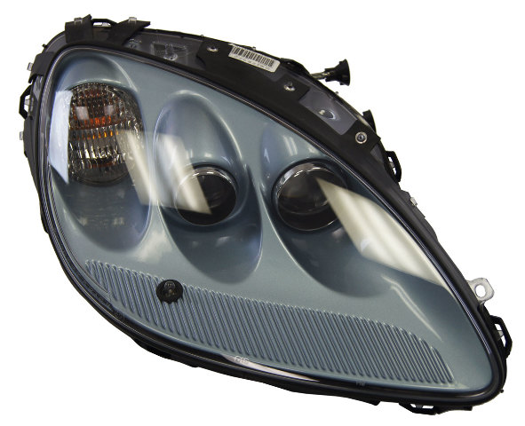 2012 Chevrolet Corvette C6 Right Export Headlamp Carlisle Blue New OEM 20936418