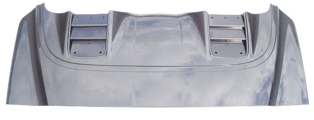 Genuine GM C7 Corvette Convertible Tonneau Cover Lid - Cyber Gray