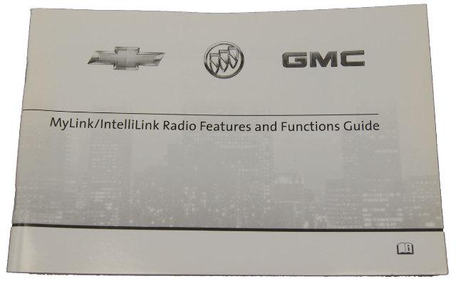 2012 Gm Chevrolet Buick Gmc Mylink Intellilink Radio