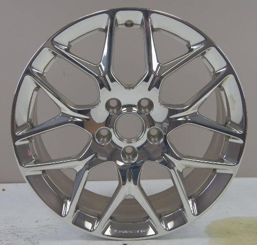 "2015-16 Corvette Front Wheel 19"" X 8.5"" Polished Aluminum New 23246356 20986508"