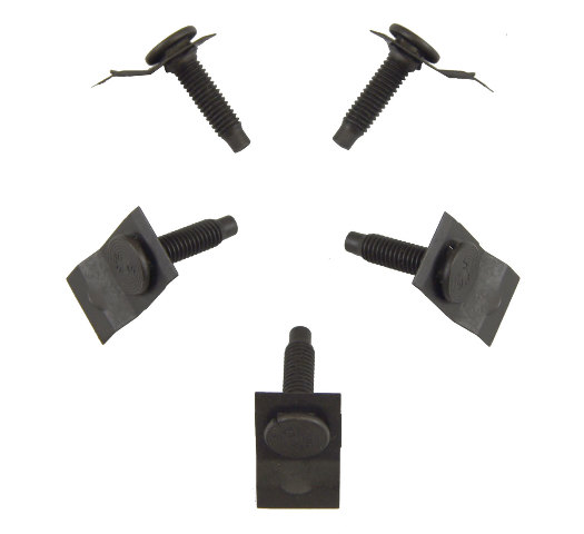 GM Stow Jack Bolts Pack of 5 New OEM M6 X 1.00 X 25mm 25614723