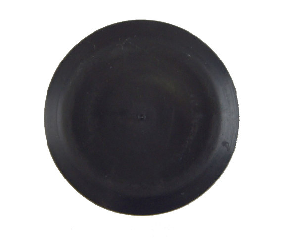 Gm Round Cap Plug Black Rubber Fits 25mm Hole 32mm Wide