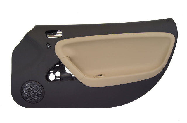 2006-2010 Solstice SKY RH Door Panel Black/Tan New Power Lock & Window 25844624