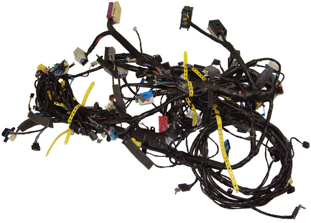 2009 cadillac xlr xlr v complete chassis wiring harness GM Steering Column Wiring Schematic GM Wiring Diagram for Steering Column