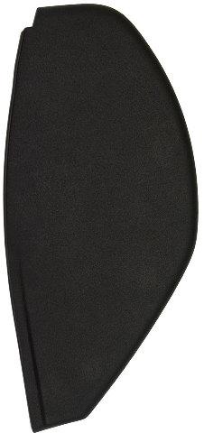 2006-2010 Hummer H3 Instrument Panel Dash Cover End Cap Ebony LH 25877919