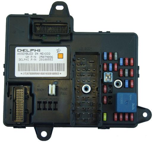 2008-2013 Corvette XLR Delphi Electronic Body Control Module Computer 25879086