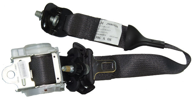2005 2009 Hummer H2 SUT RH Rear Passenger Side Seat Belt